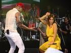 Ivete Sangalo participa de show de Léo Santana em Salvador