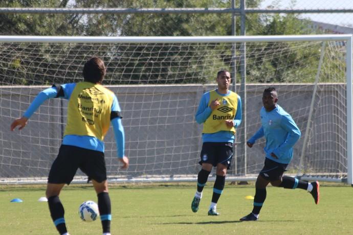 Braian Rodríguez Grêmio  (Foto: Eduardo Moura/GloboEsporte.com)