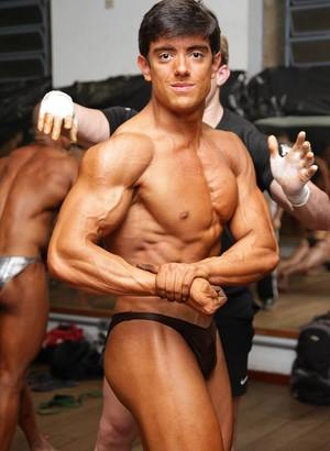 Ayrton Guedes fisiculturista de Uberlândia (Foto: Ayrton Guedes / Arquivo pessoal)