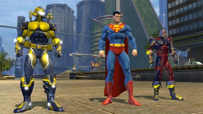 DC Universe Online é MMO com heróis (Foto: Divulgação)