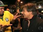 PM dispersa torcedores argentinos na Vila Madalena, em São Paulo