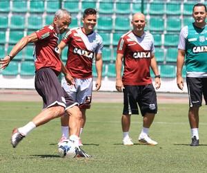albeneir figueirense treino (Foto: Luiz Henrique / FFC)