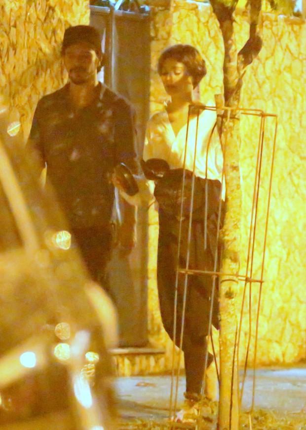 Sophie Charlotte e Daniel de Oliveira (Foto: Delson Silva / AgNews)