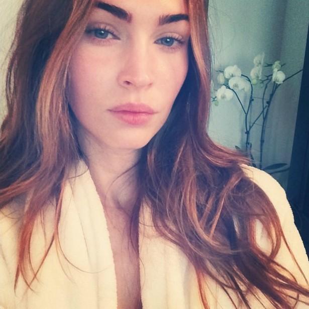"""A atriz Megan Fox não curte muito usar as redes sociais, mas já publicou uma """"selfie"""" em que está sem maquiagem. (Foto: Instagram)"""