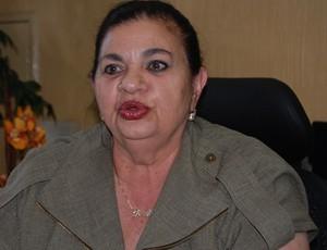 Rosilene Gomes, presidente da Federação Paraibana de Futebol (Foto: Cadu Vieira)