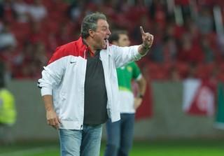 Abel gostou mais do seundo tempo do Inter (Foto: Alexandre Lops/Internacional)