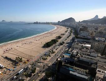 Copacabana vai receber etapa do Circuito Mundial (Foto: Divulgação/Mauricio Kaye)