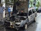 VC no MGTV: Carro apresenta pane elétrica e pega fogo em Nova Serrana