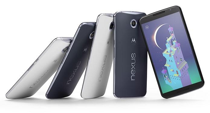 Nexus 6, fabricado pela Motorola, foi lançado em 2014 com Android 5.0 Lollipop (Foto: Divulgação)