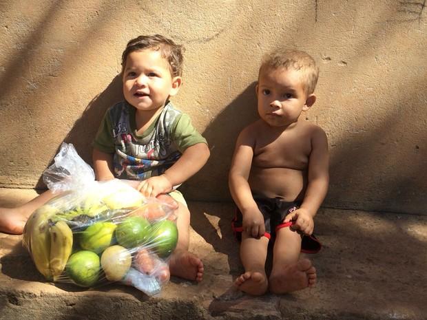 Doações foram feitas neste sábado (11), em Palmas (Foto: Neyla Rodrigues/Arquivo Pessoal)