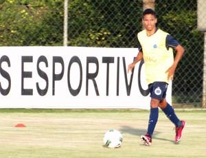 Fabinho, atacante do Cruzeiro (Foto: Marco Antônio Astoni / Globoesporte.com)