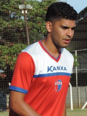 Rodolfo Filemon, zagueiro do Grêmio Prudente (Foto: Murilo Rincon / GloboEsporte.com)