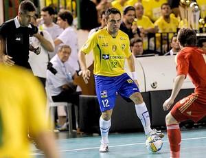 Falcão jogo Brasil x Rússia final futsal (Foto: Flávio Moraes/Divulgação)