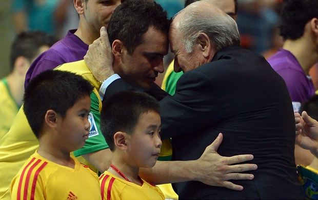 Falcão Blatter futsal (Foto: Getty Images/Fifa)