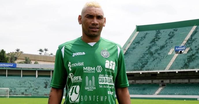Flávio Caça-Rato, atacante Guarani (Foto: Rodrigo Villalba/ Memory Press)
