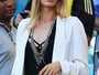 Sarah Brandner, namorada Bastian Schweinsteiger, curtiu a vitória da arquibancada