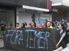 Grupo faz ato contra Michel Temer no Dia da Independência em Ribeirão