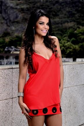 Mari Antunes é vocalista do 'Babado Novo' (Foto: Roberto Teixeira/EGO)