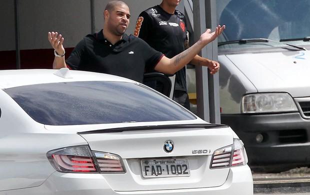 Adriano, Flamengo (Foto: Cezar Loureiro / Agência O Globo)