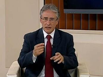 Edgar Bueno é candidato à reeleição em Cascavel (Foto: Reprodução RPC TV)