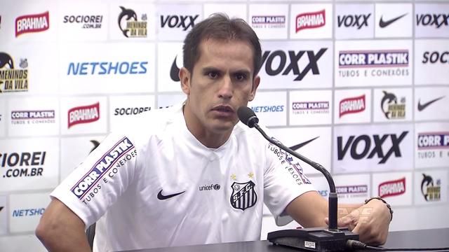 Cristian Ledesma, novo reforço do Santos (Foto: Reprodução/TV Tribuna)