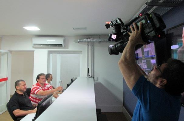Vt de encerramento mostrou o trabalho de toda a equipe que leva o GE Piauí ao ar (Foto: Katylenin França/TV Clube)