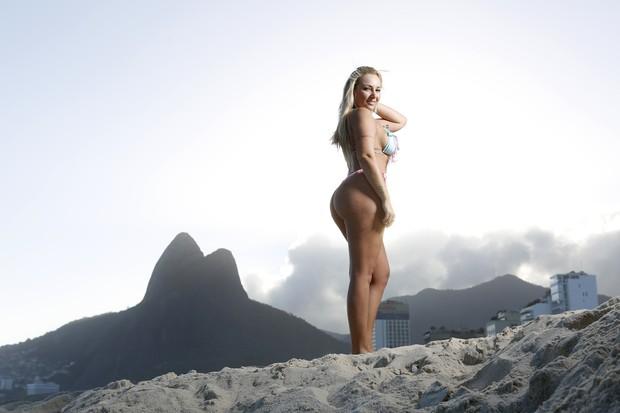 July Bittencourt, Miss Bumbum Pará (Foto: Marcos Serra Lima/Ego)