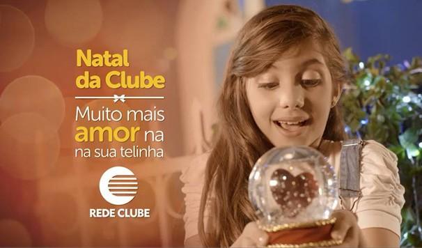 Campanha de Natal da Rede Clube estimula gestos de amor e solidariedade (Foto: TV Clube/Divulgação)