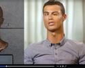 """Vídeo reúne entrevistas de CR7 e """"adapta"""" rosto do craque ao seu busto; assista"""