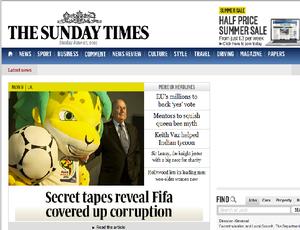 sunday times (Foto: Reprodução)