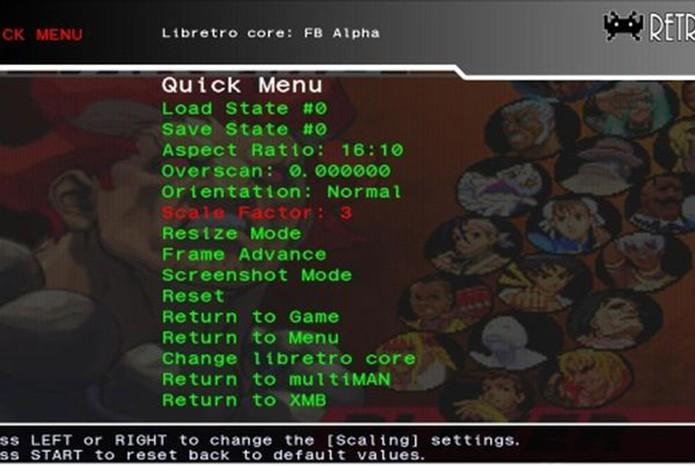 RetroArch traz emuladores completos de jogos antigos (Foto: Reprodução/Google Play)