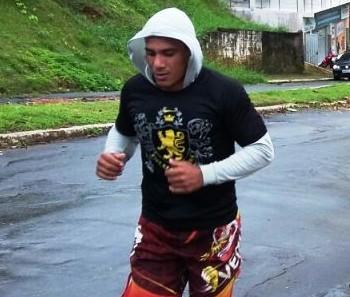 Soldado Conceição, lutador MMA Cruzeiro do Sul (AC) (Foto: Adelcimar Carvalho)