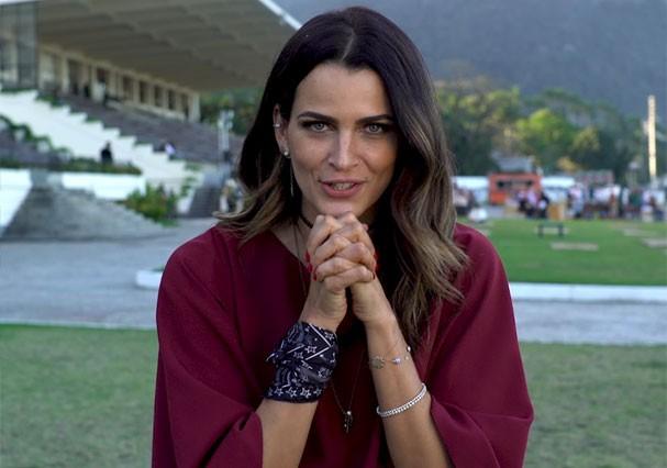 """Fernanda Motta entra no game da Glamour """"Curto ou Não Curto"""" (Foto: Reprodução)"""