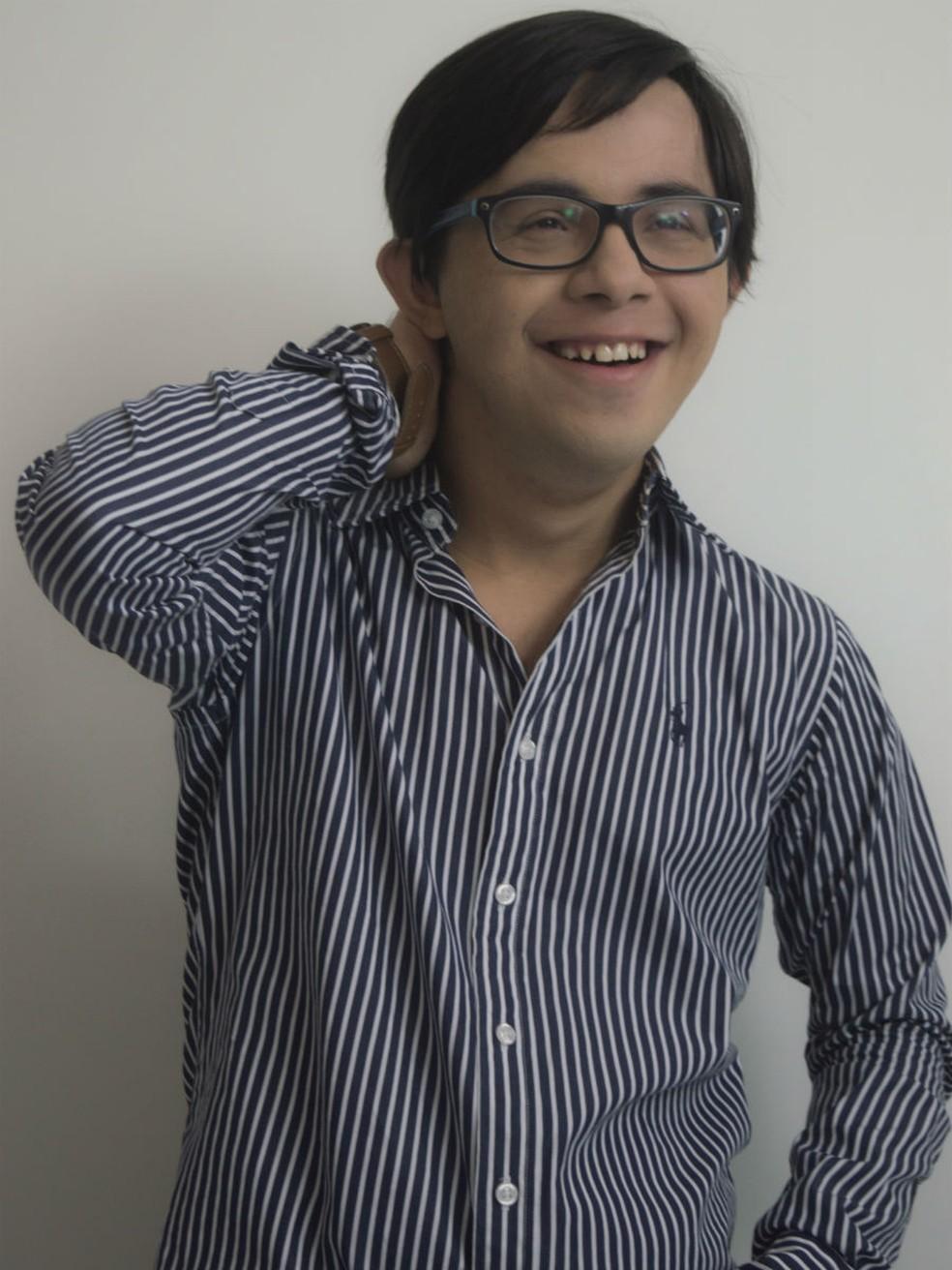 Gustavo sonha em ser modelo desde criança (Foto:  Bárbara Oliveira/Gallvão Model/Divulgação)
