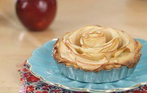 Receita de torta de maçã com caramelo
