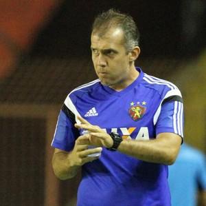 Sport x Socorrense Eduardo Baptista (Foto: Aldo Carneiro/Pernambuco Press)