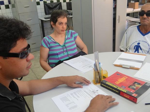 Há cerca de dois meses alunos se preparam para o exame (Foto: Fabiana De Mutiis/G1)