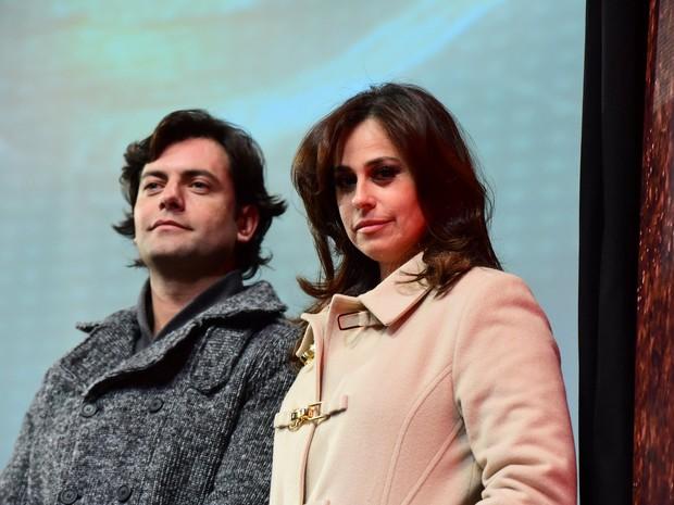 Daniela Escobar em festival de cinema em Gramado (Foto: Alex Palarea/ Ag. News)