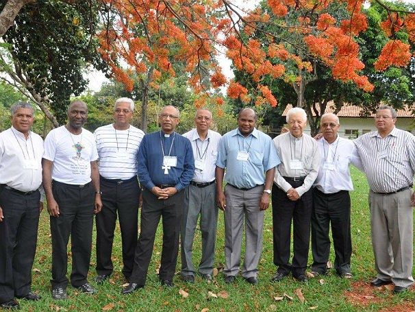 Bispos da Pastoral Afro-Brasileira (Foto: Divulgação)