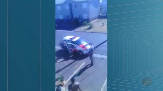 Durante abordagem em Batatais, grupo atira pedras e PMs revidam com tiro de bala de borracha