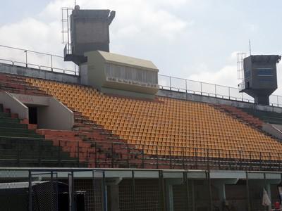 Estádio do Trabalhador, em Resende (Foto: Jéssica Mello / Globoesporte.com)