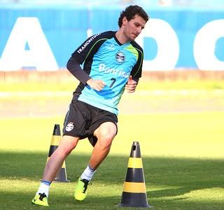 Elano treino Grêmio (Foto: Lucas Uebel / Site Oficial do Grêmio)