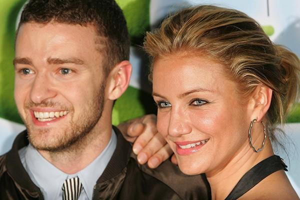Em 2007, Cameron Diaz namorou com Justin Timberlake. Ela tinha 35 anos e ele, 26.  (Foto: Getty Images)