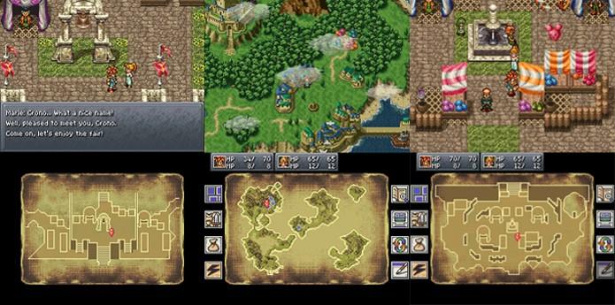 Chrono Trigger do Nintendo DS é considerada a versão definitiva do game (Foto: Reprodução/IGN e Chrono Wikia)