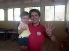 Senador Randolfe Rodrigues vota no AP (John Pacheco/G1)