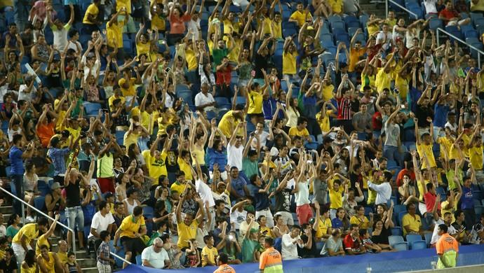 Natal - torcida - seleção brasileira - Arena das Dunas (Foto: Alexandre Lago/GloboEsporte.com)