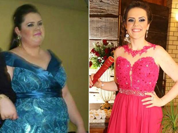 Maryane Cohen, de 24 anos, emagreceu 82 kg com ajuda de cirurgia bariátrica (Foto: Maryane Cohen/Arquivo Pessoal)