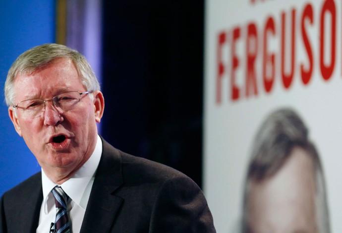 ex-treinador Alex Ferguson lança sua biografia (Foto: Agência Reuters)