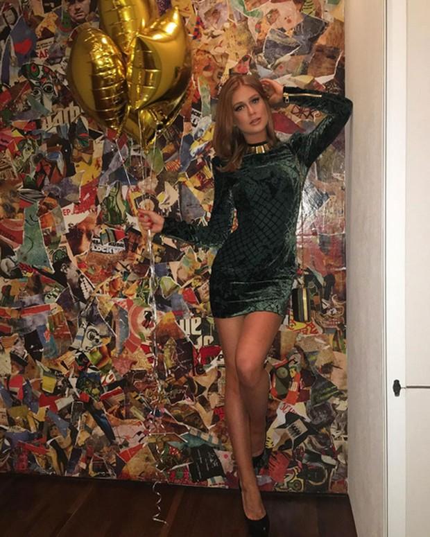 Marina Ruy Barbosa exibe look usado para comemorar seu aniversáriod e 21 anos (Foto: Instagram/ Reprodução)