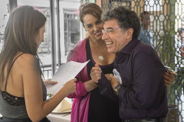 Suzy Rêgo e Paulo Betti gravam Rock story' com a diretora Noa Bressane (Foto: GLOBO/Maurício Fidalgo)